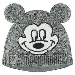 Disney Mickey Mouse knit cap with sewn ears
