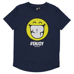Junior - Short-sleeved tee-shirt featuring ©Smiley print