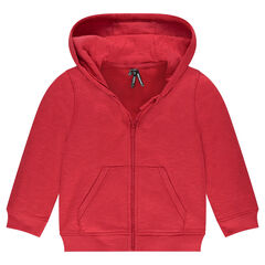 Junior - Slub Fleece Hooded Vest