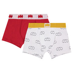 Set of 2 pairs of cotton BATMAN boxer shorts