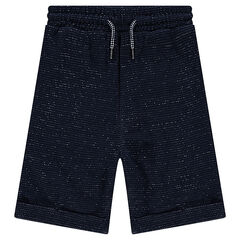 Junior - Baggy fleece Bermudas with a twist and pockets