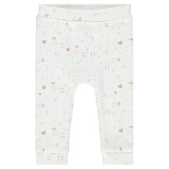 Leggings with allover ©Smiley Baby print