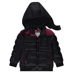 Junior - Quilted coat with microfleece lining
