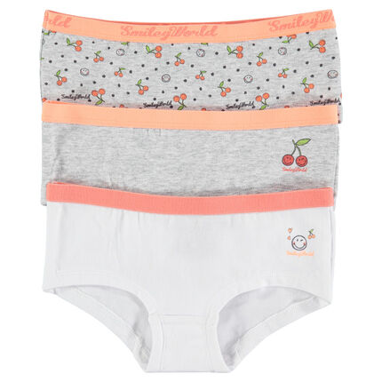 Set of 3 pairs of ©Smiley underwear