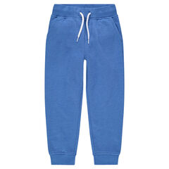 Heathered fleece sweat pants