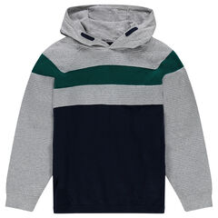Junior - Knit hooded sweater