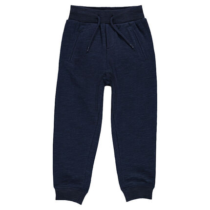 Lightweight, low-crotched, fleece pants with pockets