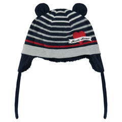 Disney Minnie Mouse sherpa-lined knit cap with ears