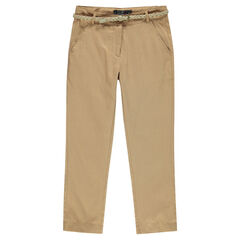 Junior - Fluid, chino-cut 7/8 pants