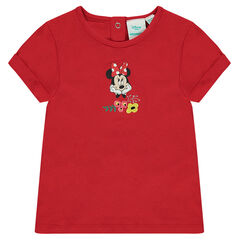 Short-sleeved tee-shirt with a Disney Minnie Mouse print