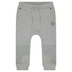 Trendy fleece sweatpants