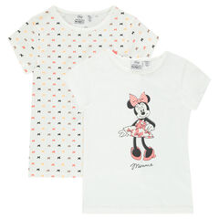 Set of 2 Disney Minnie tee-shirts (undershirts)
