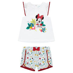 Disney Minnie Mouse ensemble in jersey and light fleece