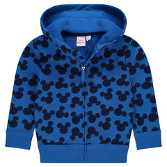 Disney Mickey Printed Fleece Hoodie
