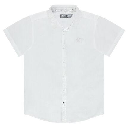 Junior - Plain-colored, short-sleeved shirt