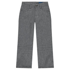 Regular fit fleece pants