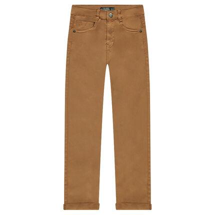 Junior - Plain twill trousers