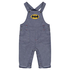 Cotton overalls with Batman badge