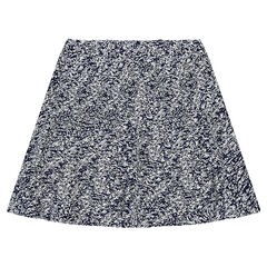 Junior - Flared skirt with an allover print
