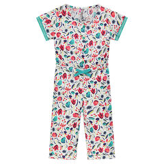 Jumpsuit with decorative print