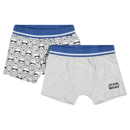 Junior - Set of 2 assorted boxers with Star Wars™ motif
