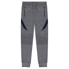 Junior - Pantalon de jogging en molleton avec jeux de découpes et de plis