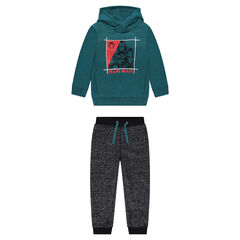 Fleece sweatsuit with Marvel Iron Man print
