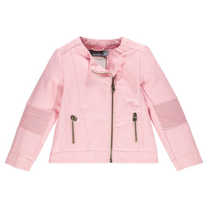 Imitation leather Perfecto jacket