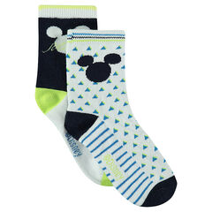Lot of 2 pairs of matching Disney Mickey socks
