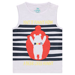 Slub jersey tank top with a ©Disney Winnie the Pooh print
