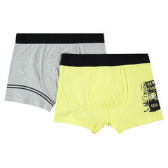 Junior - Set of 2 assorted boxers with ©Smiley print