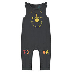 Long jersey jumpsuit with a ©Disney Winnie the Pooh print