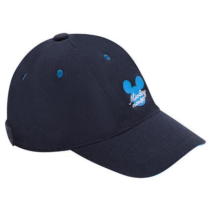 Disney twill cap with Mickey print