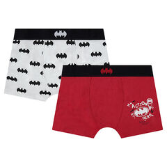 Junior - Pack of 2 BATMAN Cotton Boxers