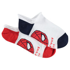 Set of 2 pairs of ankle socks with ©Marvel Spiderman motif