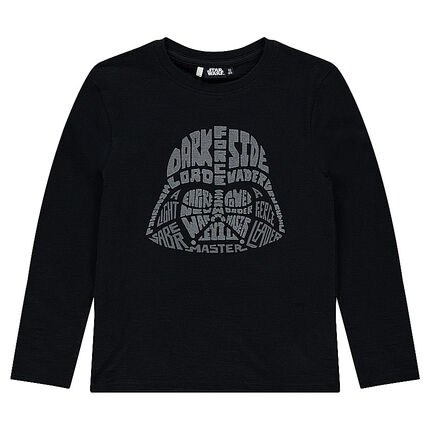 Junior - Long-sleeved tee-shirt with Star Wars™ Dark Vador print