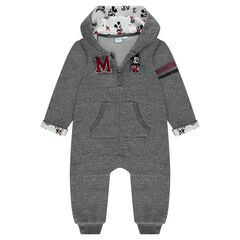 Disney long, hooded, fleece jumpsuit