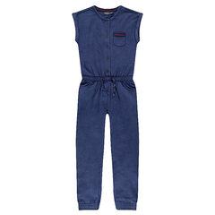 Junior - Long fleece one-piece suit