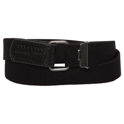 Solid elasticated belt
