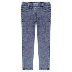Denim-like jeggings