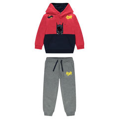 Fleece BATMAN sweatsuit with embroidery