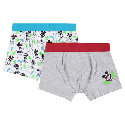 Set of 2 assorted boxers with Disney Mickey print