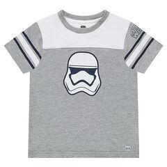 Tee-shirt manches courtes bicolore avec print Star Wars™ Stormtrooper