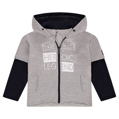 2 in 1 Hooded Fleece Vest