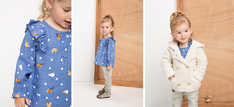 Kids and baby clothes at best prices Lovely Garden Bird Orchestra 2017