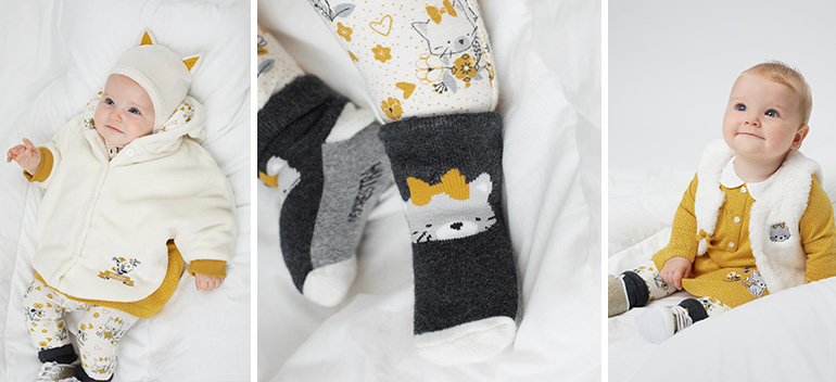 Kids and baby clothes at best prices Retro cat Orchestra 2018