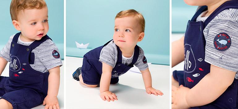 vêtements bébé garçon à petits prix Hello Matelot Orchestra 2017