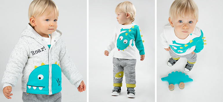 Kids and baby clothes at best prices Dino dino Orchestra 2018