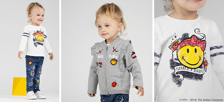 Kids and baby clothes at best prices Rock and Smile Orchestra 2018