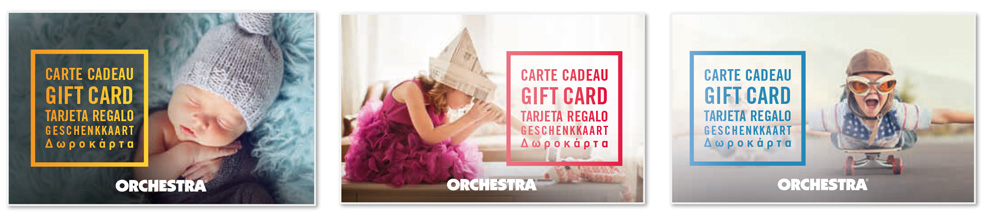 Gift card Orchestra
